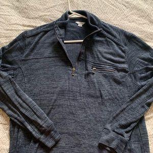 Calvin Klein Pullover Sweatshirt Blue Size XL